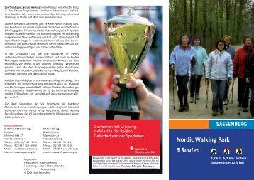 Nordic Walking Park 3 Routen