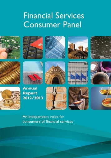 Download the full annual report - Financial Services Consumer Panel