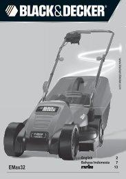 EMax32 - Service - Black & Decker