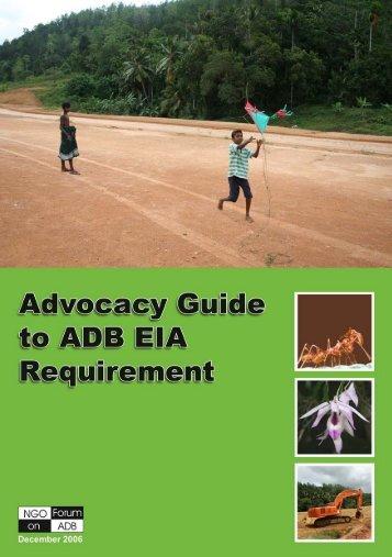 EIA Guidebook - NGO Forum on ADB