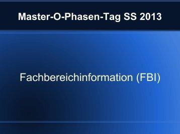 Mathe-FBI hier - Fachschaft Mathematik/Informatik