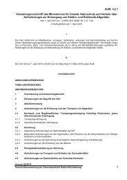 Verwaltungsvorschrift des Ministeriums für Umwelt, Naturschutz und ...