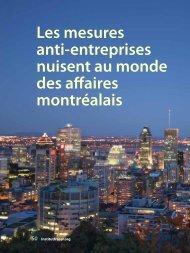 Les mesures anti-entreprises nuisent au monde ... - Fraser Institute