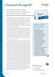 Geistlich Mucograft® - FM Dental Produkty Dla Stomatologii
