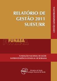 Suest/RR - Funasa