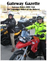 Gateway Gazette - Gateway Riders Index