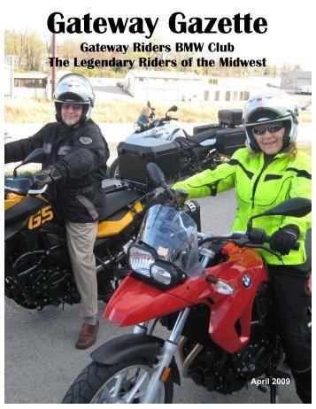Gateway Gazette - Gateway Riders Index