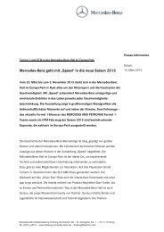 Presse-Information zum Download (pdf) - Mercedes-Benz ...