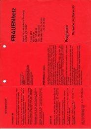 Dezember '94/Januar ' - Frauenhetz