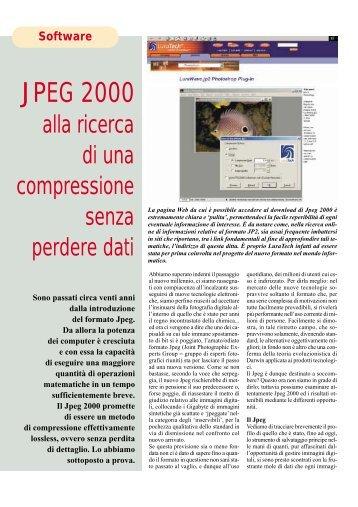 JPEG 2000 - Fotografia.it