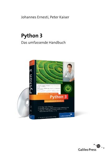 Python 3 (PDF) - Galileo Computing
