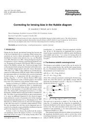 Correcting for lensing bias in the Hubble diagram