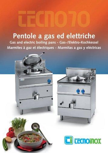 Pentole gas ed elettr
