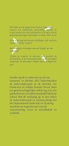 gender - Onderwijs en Vorming - Vlaanderen.be - Page 3