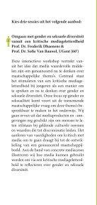 gender - Onderwijs en Vorming - Vlaanderen.be - Page 6