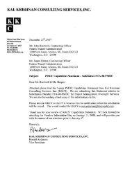 Kal Krishnan Consulting Services [PDF] - Federal Transit ...