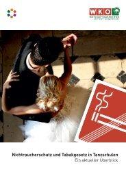 Nichtraucherschutz und Tabakgesetz in Tanzschulen