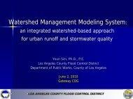Watershed Management Modeling System: