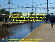 Conducting Climate Change Vulnerability of New Jersey's ...