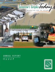 Annual Report 2009 - Florida's Turnpike