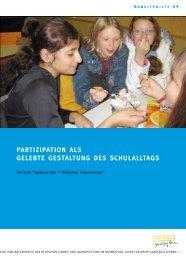 partizipation als gelebte gestaltung des schulalltags - Deutsche ...