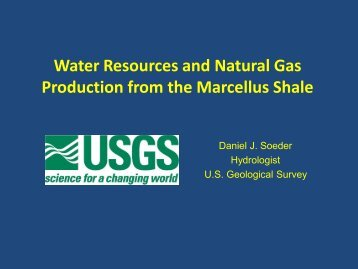 the Marcellus Shale - Frostburg State University