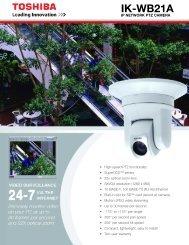 IK-WB21A - Galaxy Control Systems
