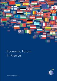 XVIII Forum Engl - Economic Forum