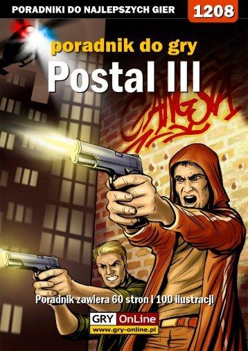 Nieoficjalny polski poradnik GRY-OnLine do gry Postal III - Gandalf