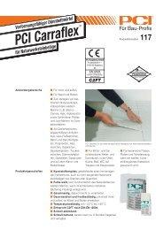 PCI Carraflex Natursteinkleber - Fliesen Lerche
