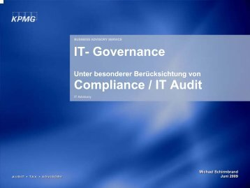 IT Governance Exec Sum