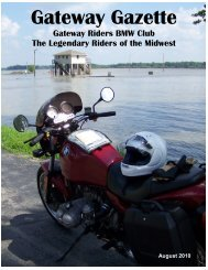August 2010 - Gateway Riders Index