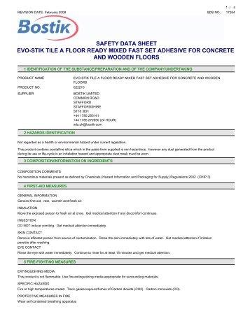 Dunlop Epoxy Grout Instructions