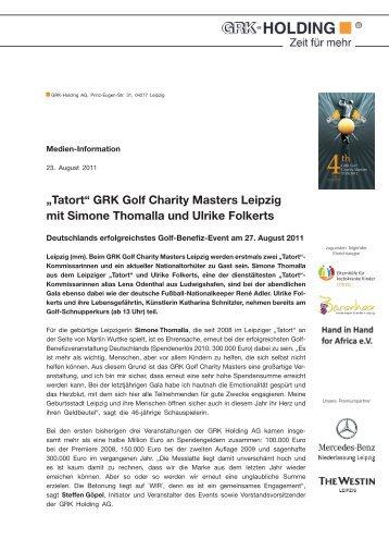 Charity Masters mit Thomalla und Folkerts - Golfclub Leipzig ...