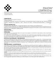 PAXON PROSPECTO 2/06 - Gador SA