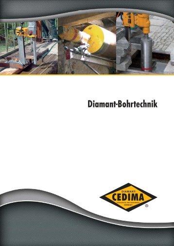 Diamant-Bohrtechnik