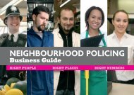 Neighbourhood policing business guide - Federation of Small ...