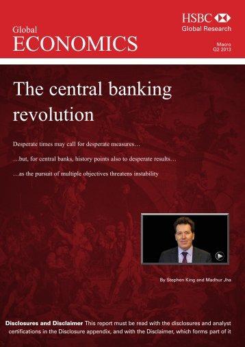 Global Economics Quarterly-The central banking revolution