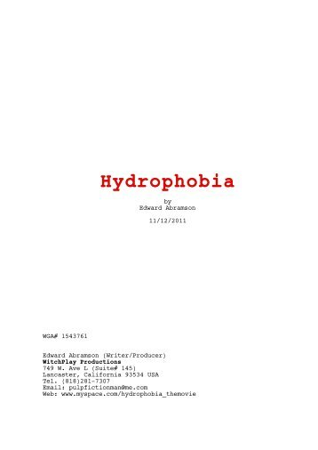 Hydrophobia-6_typo.fdx Script