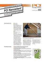 PCI Nanosilen PCI Nanosilent - Fliesen Lerche