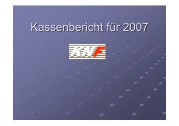Kasse 2007