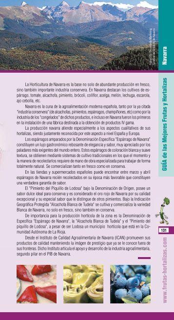Navarra - Frutas y Hortalizas