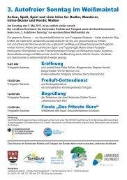 FLYER Autofreier Sonntag am 05.Mai.2013 - Frankenwald ...