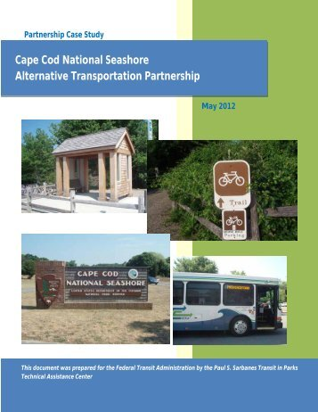 Cape Cod National Seashore Alternative Transportation Partnership