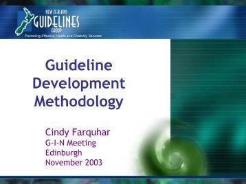Presentation Skills Training - Guidelines International Network