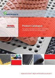Backsafe Australia - Work Well Mats WA Catalogue
