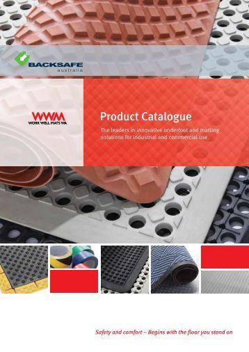 Backsafe Australia - Work Well Mats WA Catalogue