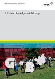 Lehrplan Allgemeinbildung herunterladen / lesen - Gewerbliches ...