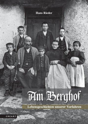 Am Berghof · Lebensgeschichten unserer Vorfahren · Leseprobe