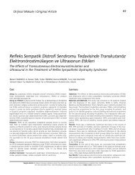 Refleks Sempatik Distrofi Sendromu Tedavisinde ... - FTR Dergisi